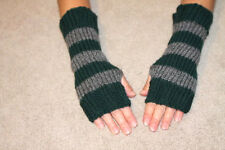 Harry Potter Inspired Fingerless Gloves/Wrist Warmers- Slytherin Colors