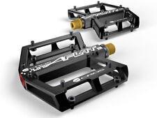 Acros A-Flat SL Titan Plattformpedale schwarz 290 Gramm
