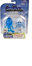 The Smurfs blue Papa Smurf and Clumsy movie grab ems figure escape from gargamel