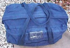 "NAVY BLUE CARRY BAG CADETS / TOOLS 24"" - ECHIE BAG  CANVAS"