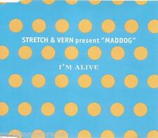 "STRETCH & VERN present ""MADDOG"" - I'm Alive (UK 4 Tk CD Single)"