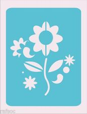 Stencil Flower Crafts Paint Color Wall Decoration  Kids USA Seller