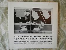 TOWARD A SOCIAL LANDSCAPE Danny Lyon Garry Winogrand..1966 1st HC DJ RARE
