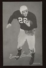 1948/50 W468 Exhibit Supply Football Card Norm Standlee SP EX