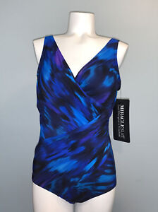 Miraclesuit One Piece Swimsuit Size 12 in (Oceanus) msrp $174.