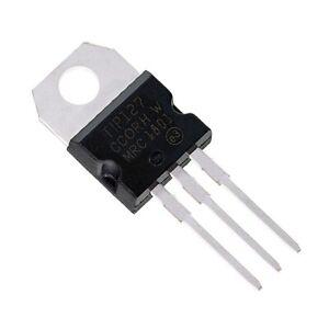 20PCS TIP127  5A 100V PNP Darlington transistor TO-220
