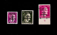 FRANCE ** LIBERATION OCCUPATION FRANCAISE n° 1, 6, 7 / MNH / SIGNES CALVES /TTBE