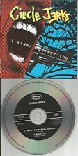 CIRCLE JERKS I wanna Destroy you REMIX PROMO DJ CD single Robyn Hitchcock trk