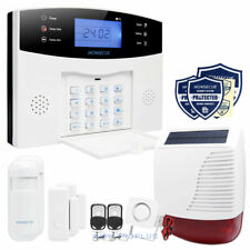 HOMSECUR GSM Alarm System with LCD Screen & Wireless Solar Siren APP Supported