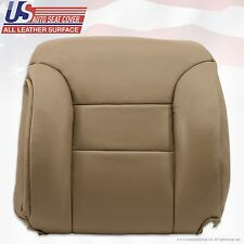 1995 to1999 Chevrolet C/K 1500 Driver Upper top Lean Back Leather Seat Cover Tan