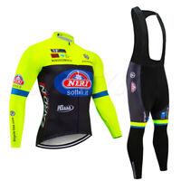 Mens Cycling Jersey Set Sports Pants Shirt Kits Outdoor Road Bike Jersey Jacket