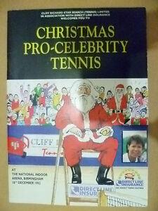 Tennis Memorabilia- 1993 Christmas Pro Celebrity Tennis, 18 Dec (Org*,VG)