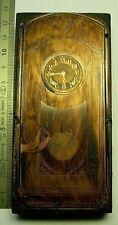 Plaque gravure Cuivre horloge clock uhr regulateur carillon pendule Imprimerie 7