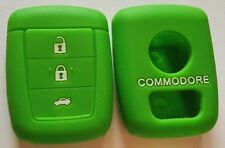 GREEN SILICONE KEY COVER SUITS HOLDEN REMOTE MALOO SS V8 SV6 VE COMMODORE