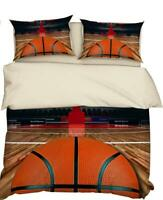 3D Hoop Basketball ZHUA1806 Bed Pillowcases Quilt Duvet Cover Set Queen King Zoe