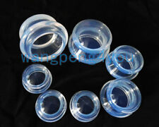 7pc Transparent Medical Silicone Vacuum Cupping set Massage Jar Suction Cups Kit