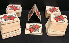 200 Vintage Dos Equis XX Beer paper coasters, Bar, Man Cave