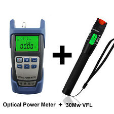 Optical Power Meter + 30 Mw Visual Fault Locator For Optic Fiber Tools For NBN