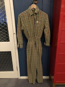 Lucy and Yak Eddie Boilersuit Corduroy Checked