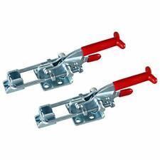 2pcs 2000lbs Capacity Adjustable Latch U Bolt Self Lock Toggle Clamps