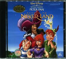Peter Pan in Never Land - Original Video CD VCD Walt Disney Pictures Rare OOP