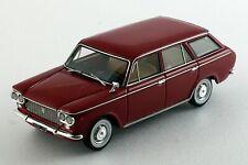Fiat 1300 Familiare -Rouge- flanc blanc - Milena Rose - 1/43ème - #MR43041.rs