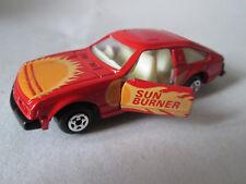 1980 Matchbox Superfast 1:61 Red Sun Burner Toyota Celica xx Sports Car #37 HK