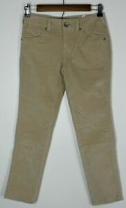 NWT JUSTICE Girls' Bootcut Corduroy Pants Tan/ Camel Size 8 1/2