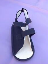 DeRoyal Care-Steps Cast Boot Shoe Open Toe, M Medium Unisex, Black #2033-03, NEW