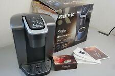 Keurig K-Cup Pod Coffee Maker Single Serve K-Elite K90 Brushed Silver (18A-OB)