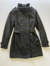 Women's H&M Charcoal Coat & Jacket Size Small 4