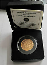 1913 Canada $10 Dollars Hand-selected Canadian Gold Reserve  RCM Sale