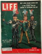 Vintage December 19, 1955 LIFE Magazine - $100 SUITS OF ARMOR FOR 6-YEAR OLDS