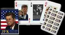 JFK set of 52 playing cards (gib)