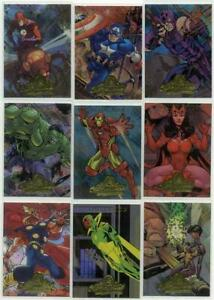 Marvel Masterpieces Fleer 2008 Insert Chase Card Upper Deck Single Trading cards