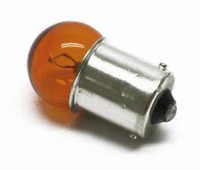 2 X 207 ámbar bombillas 12v 5w 15mm base 19mm Cabeza 207a