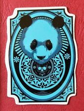 "Sticker Adesivo ""Panda in blu"" lucentezza-Optik Stickerbomb Skateboard Laptop"