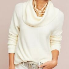 Anthropologie Brenta Cowl Neck Pullover by Moth EUC MP