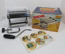 Vintage Marcato Ampia Brevettata 150 Pasta Dough Machine Noodle Roller Italy