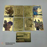 Carte Dragon Ball Metal Gold Card / Carddass Fan Made Custom / DBZ Super GT