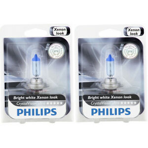 2 pc Philips Low Beam Headlight Bulbs for Mercedes-Benz A160 A180 A190 A200 oh