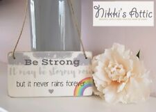 Inspirational Quote wooden Plaque,Sign, Handmade, Gift, Home,Rainbow,