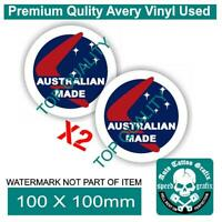OLD SCHOOL AUSTRALIAN MADE DECAL STICKER PATRIOTIC AUSTRALIANA DECALS STICKERS