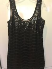 Wish Black Sequins Dress Size 12.  #1