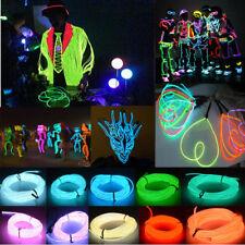 Flexibles LED-Licht EL Wire String Band Rope Glow Dekor Neon Lampe USB-Steuerung