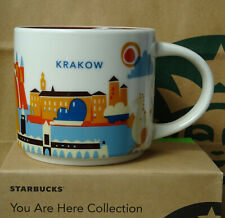 Starbucks City Mug Cup You are here Series YAH Krakow Poland 14oz NEW