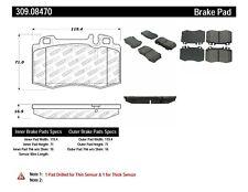 Disc Brake Pad Set-RWD Front,Rear Stoptech 309.08470