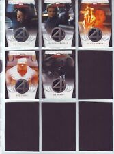 FANTASTIC FOUR SET OF 5 MEMORIBILIA CARDS BY UPPER DECK IN 2008