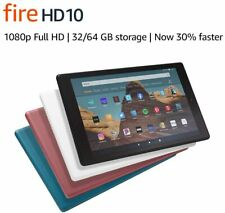 Amazon Fire HD 10 (9th Generation) 32GB, Wi-Fi, 10.1in - Black with Special Offe