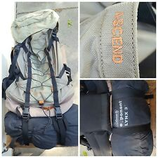 Coleman Exponent ASCEND External Frame Backpack With LYNX 3 Tent Awesome Combo!